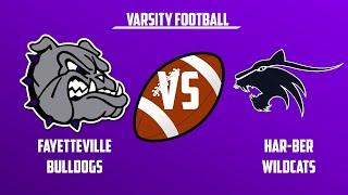 Varsity Football | Har-Ber vs Fayetteville
