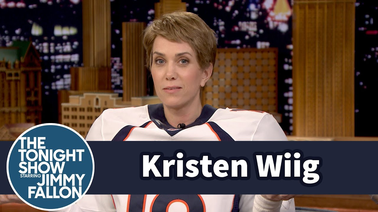 Jimmy Interviews Peyton Manning (Kristen Wiig) thumbnail