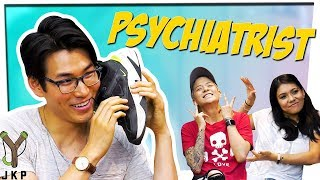 """You Broke Him...""   Psychiatrist ft. Amber Liu & Mike Bow"