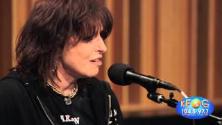 Chrissie Hynde - You or No One (Live on KFOG Radio)