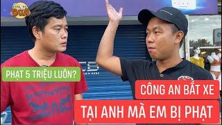 Tài xế bị bắt về phường phạt nặng vì tội đậu xe sai quy định đợi Khương Dừa?