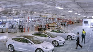 Tesla releases impressive look inside Gigafactory Shanghai, with its hundreds of robots