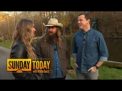Hear How Chris Stapleton Wrote 'Daddy Doesn't Pray Anymore' In 10 Minutes | Sunday TODAY