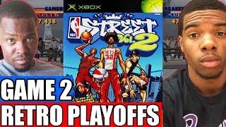 NBA Retro Playoffs Game 2 - DEFINITION OF CLUTCH!    NBA Street Vol. 2 (Xbox)