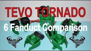 6 Fanduct Comparison - Tevo Tornado 3D Printer