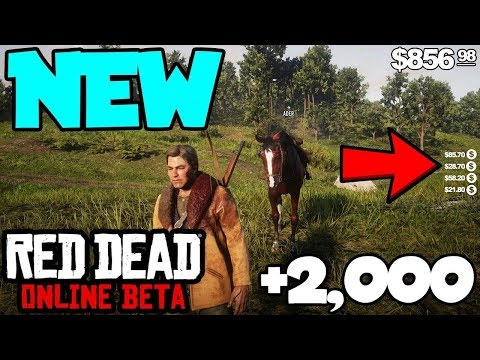 Red Dead Online - HACK OR GLITCH? (Red Dead Redemption 2