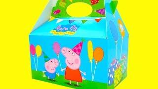 Свинка Пеппа сюрпризы и игрушки  Игрушкин ТВ