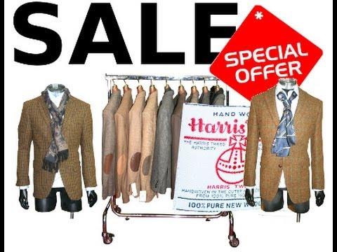 HARRIS TWEED SAKKO SALE Sakkos im Ausverkauf DORTMUND / HAGEN
