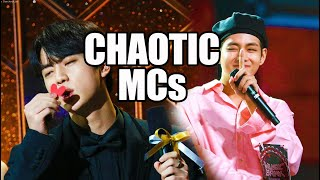 BTS being chaotic MCs