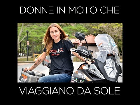 [VIDEO] Donne in moto che viaggiano da sole