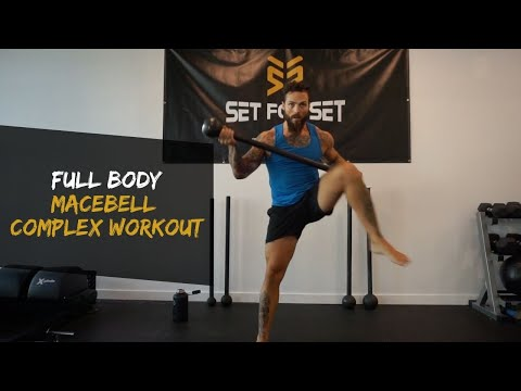 360 Steel Mace Lateral Lunge