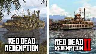 Exploring Red Dead Redemption 2 Areas in Red Dead Redemption 1