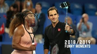 Best Tennis. Roger Federer -  Funny Moments 2018/2019