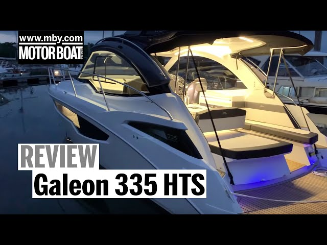 A weekend with the Galeon 335 HTS | Review | Motor Boat & Yachting