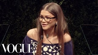 Zendaya Announces 2016 CFDA/Vogue Fashion Fund Winner | Vogue