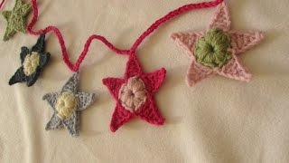 VERY EASY Crochet Star Garland / Bunting For Beginners