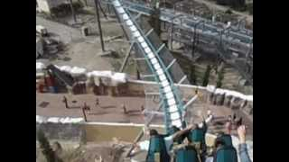 preview picture of video 'plus grande et plus rapide attraction d'Europe - Shambhala à Port Aventura'