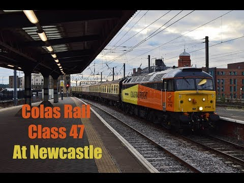 Colas Rail 47749 'City of Truro' at Newcastle 12th August 20…