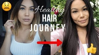 MY HEALTHY HAIR JOURNEY | REPAIRING DAMAGED HAIR |  CamilaaInc