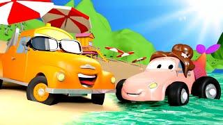 Autogaráž pro děti - Ze Cindy je Mořská Panna - Tomova Autolakovna ve Městě Aut