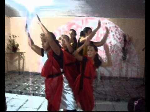 O Brasil para Cristo Alto Jequitibá-MG- Coreografia