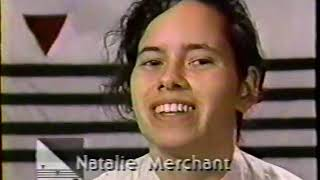 MTV News Clip - New Music Seminar 1985 - Natalie Merchant and 10,000 Maniacs