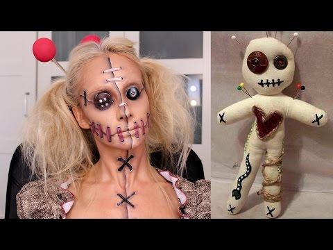 Halloween Voodoo Bebeği Makyajı   Sebi Bebi