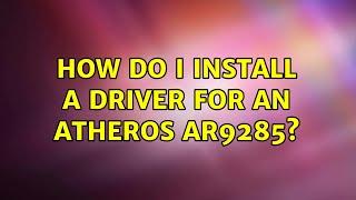 Ar9485 Kext