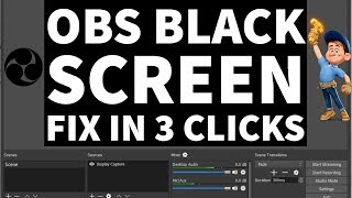 Streamlabs Obs Display Capture Black Screen