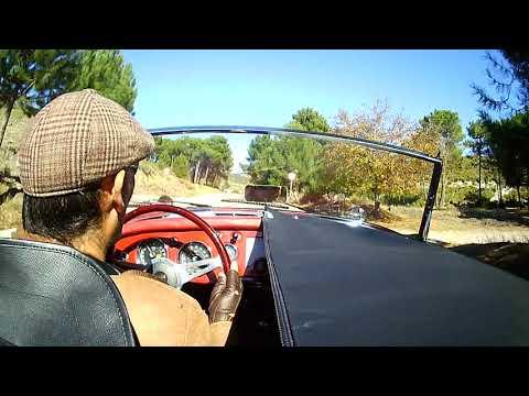 MG MGA drive en Granada España de Quéntar a Blancares II (1 11 17)