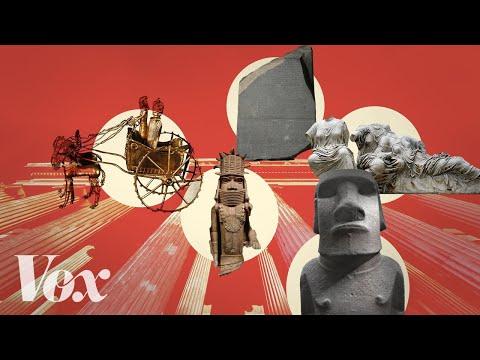 Britské muzeum plné ukradených artefaktů - Vox