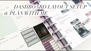 Dashboard Layout Setup & Plan With Me