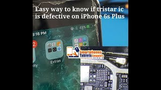 Iphone 6s Plus Easy Way To Know If Tristar Ic Is Defective