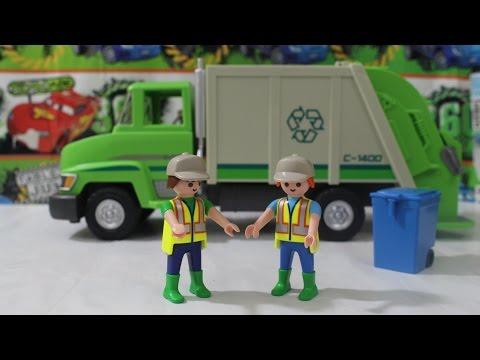 Playmobil City Life / Camión Reciclaje Basura