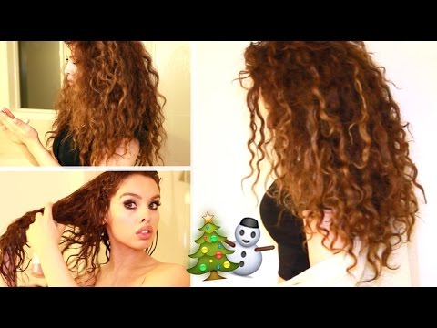 Video My CURLY Hair Routine for Dry Hair!!!