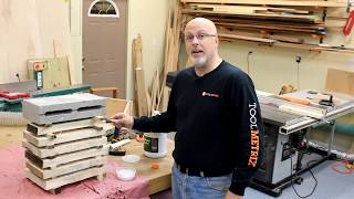 ToolMetrix - Slice Logs into Lumber on the 18BX Bandsaw with a Simple Jig