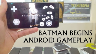 Batman Begins Gameplay on Dolphin emulator on Android (Sony