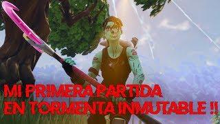 💀 ¡SOLO vs SQUAD en TORMENTA INMUTABLE! 💀 ~ FORTNITE