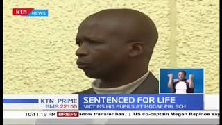 Meru teacher sentenced to life after being found guilty of defiling 8 minors