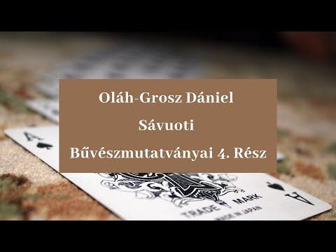 Oláh-Grosz Dániel Sávuoti bűvészmutatványai