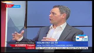 KTN Business Today 7th December 2016 - [Part 2] - Discussion on Solar Energy and Entertainment