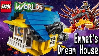 LEGO Movie 2 Set: Building Emmet's Dream House in LEGO Worlds