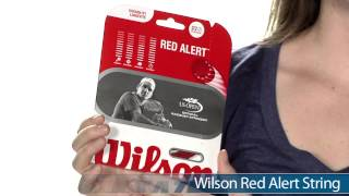Wilson Red Alert String (12m) video