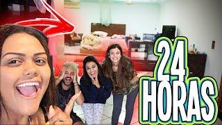 24 HORAS NO QUARTO DOS MEUS PAIS !!!
