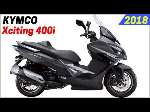 NEW 2018 Kymco Xciting 400i ABS Scooter – Accessibility is Most Important Features