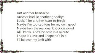 Chely Wright - Just Another Heartache Lyrics