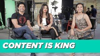 Content Is King ft Priyanka Chopra & Farhan Akhtar   #RealTalkTuesday   MostlySane   The Sky Is Pink