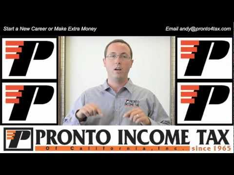 How Can I Become a Tax Preparer? Taxes Courses from Pronto Tax ...