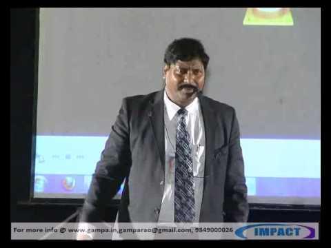 Stage Fear| Gampa Nageswararao |TELUGU IMPACT Hyd 2012-Part2
