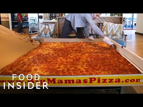 Could You Finish the World's Largest Deliverable Pizza?